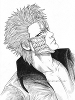 Grimmjow - inked by nominee84