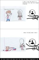 Altair Assassinates Justin Bieber (Rage Comic) by ItachiCosplayer77