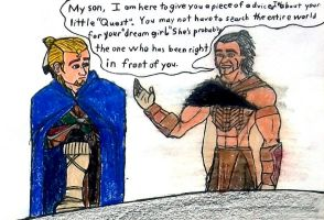 Message from his father by ask-kevlron