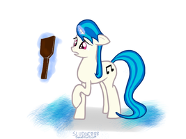 Vinyl Scratch Got a Mane Cut by Sludge888