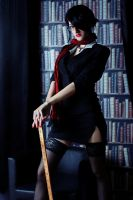 Headmistress Fiora Cosplay: Prepare to die by Hanuro-Sakura