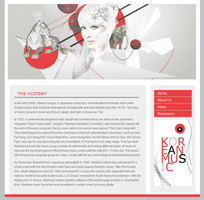 Kpop Website by CreativeSteam