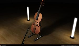 Violin -Final- by LuzbeLoco