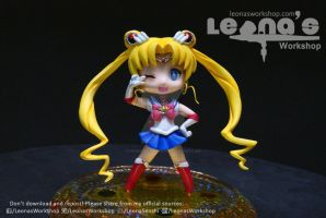 Chibi Crystal Moon Figure by LeonasWorkshop