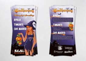 Halloween Flyer by homeaffairs