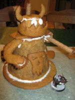 Gingerbread Stompa by AssberryFaggot