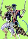 Nightcrawler and Ninjara by theaven