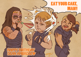 Dean Ambrose's Birthday by Tamayo423