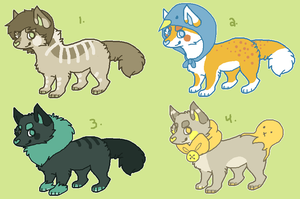 adoptables batch [closed] by pew
