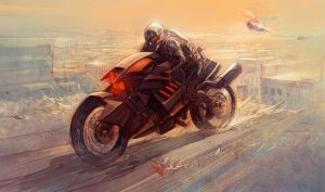 Phantom Bike 01b by Nisachar