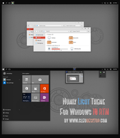 Numix-Light Theme For Windows 10 RTM by Cleodesktop