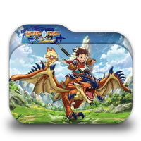 Monster Hunter Stories: Ride On Folder Icon by Rafly240