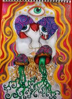 Third Eye Sees by Kisses-of-night