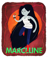 Marceline the Vampire Queen by chillaxxing