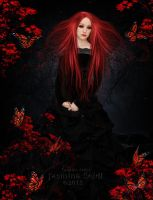 Red Sad Witch by Jassy2012