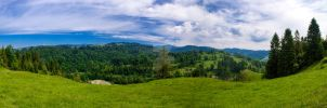 Pieniny mountains by 75ronin