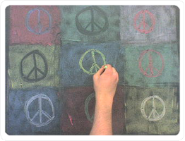 Colored Peace by karnakhan