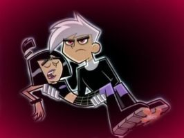 Evil Danny and Sam by DPhantomtomboy