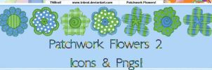 Patchwork Flowers 2 by TNBrat