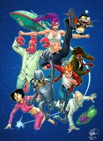 FUTURAMA by deffectx
