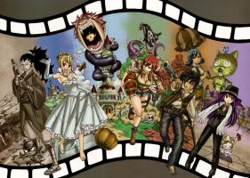 Fairy Tail Cover Movie special by Piercebros