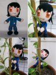 Calista Plushie Orig Character by CuteGio