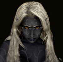 Drow Shaman by materialshadow