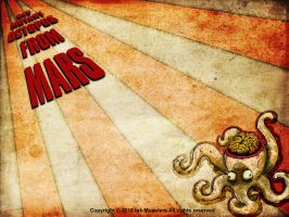 Bad mutant octopus from Mars by webmartin99