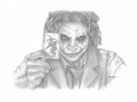 The Joker Blogs Portrait 2 by mldrfan