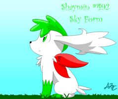 Shaymin Sky Form by EmeraldEevee