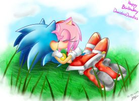 .:B-day Gift:. Sonamy by Pandalana