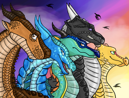 We Are the Dragonets of Destiny (OLD) by SilverStarstruck