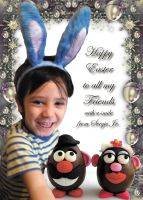Happy Easter to All My Friends by Topas2012