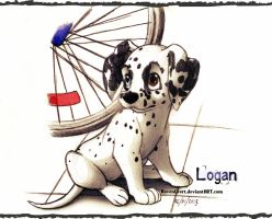 Logan the Dalmatian by RavenEvert