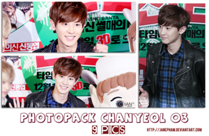 Photopack ChanYeol 03 by JanePham by JanePham