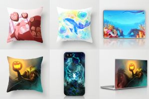 Society6 Items by ruina