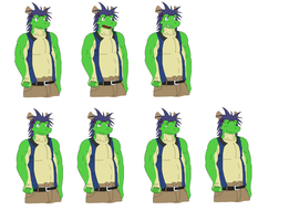 Tatsuki sprites (in process) by DG254