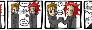 Axel is a Meanie, Part II by Quinchilla