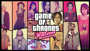 GAME OF THRONES WESTEROS by kiranmms