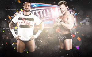 CM Punk and Chris Jericho by VSplanet