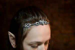 Elvish circlet from side by Ungalianta