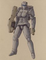 armored trooper 8 by Jepray