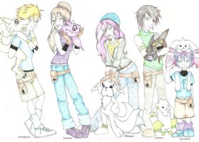 Digimon NG by deviart4ever