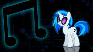 Vinyl Scratch wallpaper 1 by Chaz1029
