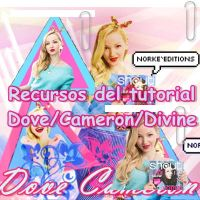 Tutorial/Dove/Cameron/Divine by NorkeEditions