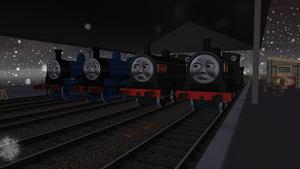 Railway Series meets Television Series: Scot Twins by Sergeant-Sunflower