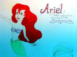 The Little Mermaid by avadaxxxkedavra