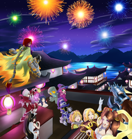 Lunar Party!! by Kinoukiri