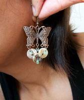 Butterfly Earrings by IdolRebel