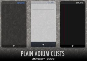 Plain Adium Clists by neodesktop